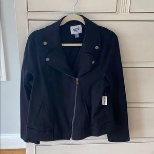 Women's Old Navy Black Bonner Jacket, NWT